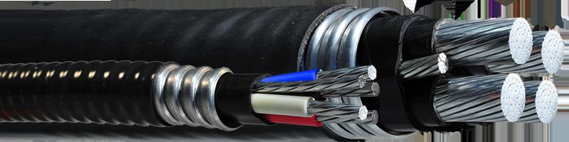 TECK90 1000V – 4 Aluminum Conductors