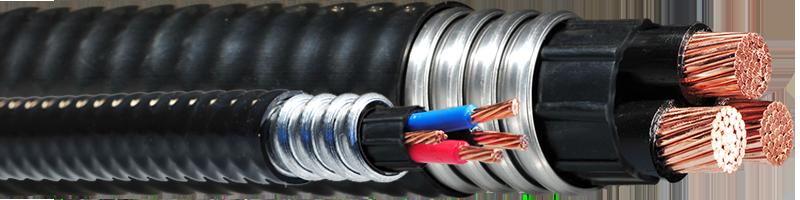 V-TECK 1000V (Vertical Riser) – 3 Copper Conductors