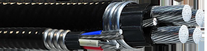V-TECK 1000V (Vertical Riser) – 4 Aluminum Conductors
